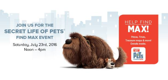 secret life of pets event