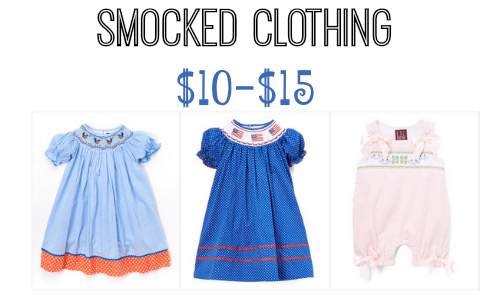 smocked clothing