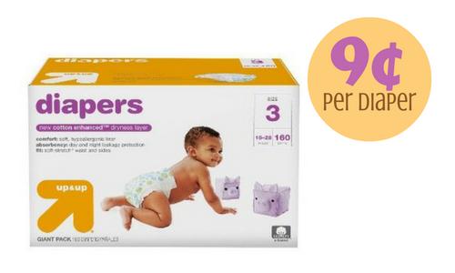 target-diapers