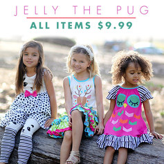 Jelly the Pug sale