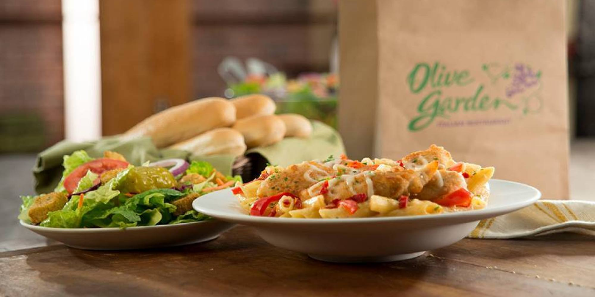 Olive Garden Buy One Take One 10 Off Southern Savers
