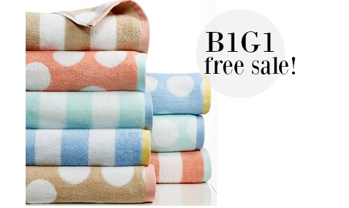 Macy S B1g1 Bath Towels More Southern Savers