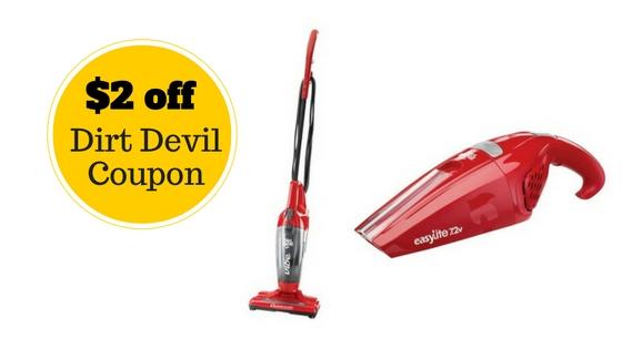Target dirt devil coupon