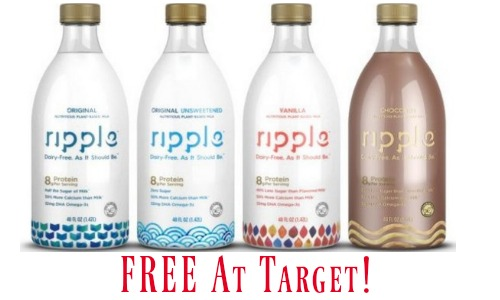 free ripple plant-based milk