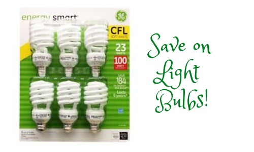 GE Energy Smart CFL Light Bulbs