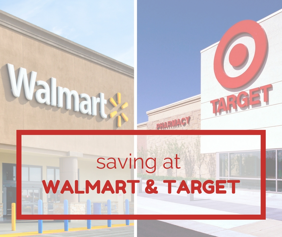 saving at target and walmart hangout
