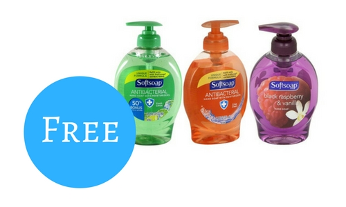 softsoap bottles free