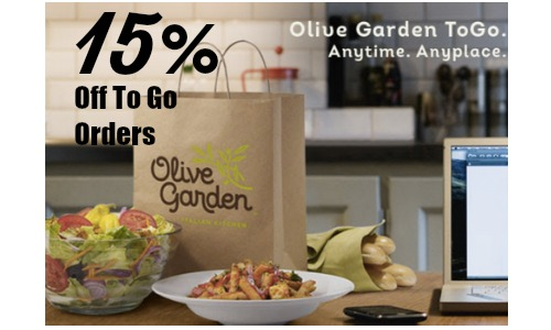 olive garden to-go orders