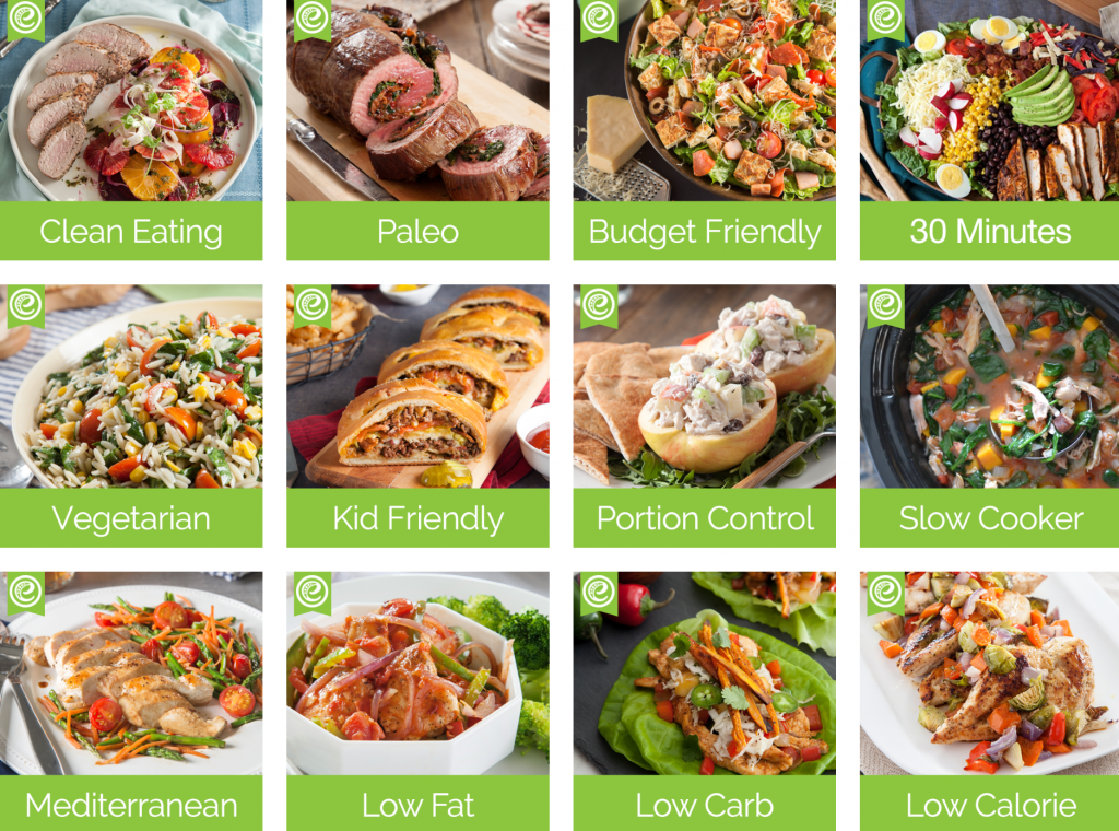 emeals menu options