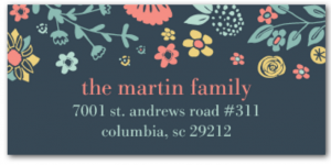 address label sale