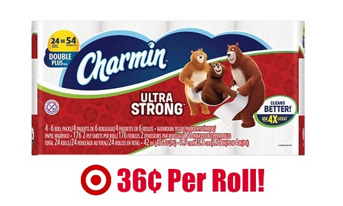 charmin ultra strong