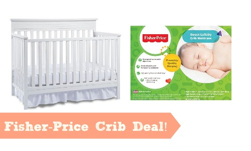 Fisher Price Crib For 110 Free Mattress Southern Savers