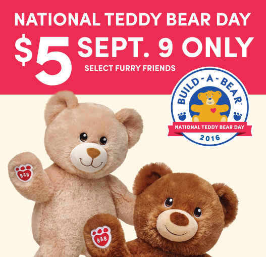 National Teddy Bear Day 5 Furry Friends Southern Savers