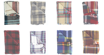 plaid-scarves