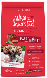 wholehearted pet food