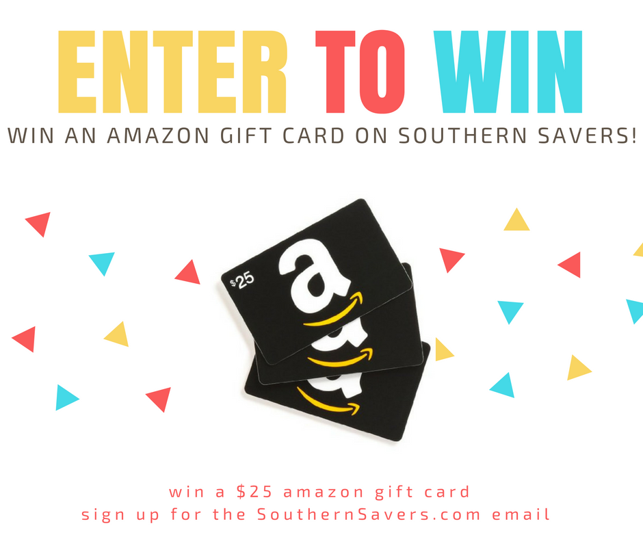 winning amazon giveaway amazon gift card giveaway 10 winners southern savers 1787