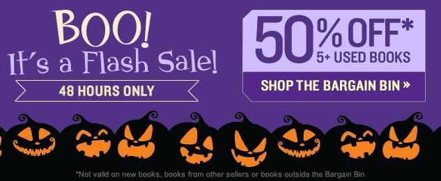 Better World Books Flash Sale