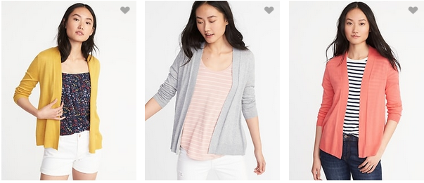 Old Navy $10 Cardigans, Today Only  Southern Savers