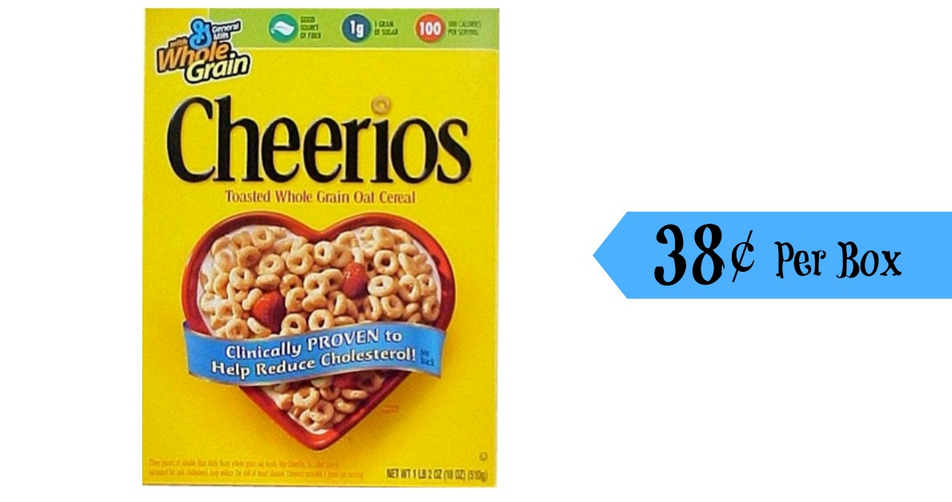 image regarding Cheerios Coupons Printable identified as Cheerios Coupon 38¢ For every Box! :: Southern Savers