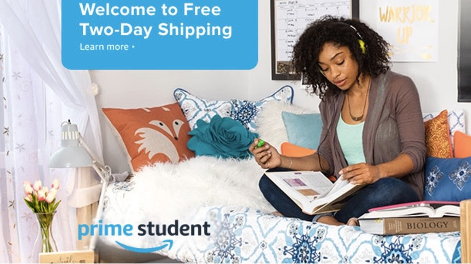 32a7b79edcf3 FREE Amazon Prime 6-Month Trial for Students    Southern Savers