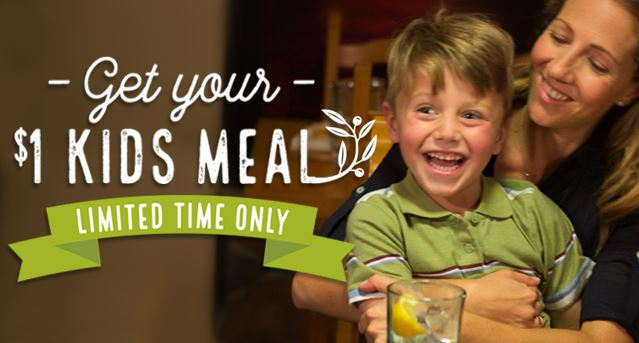 Olive Garden Coupon 1 Kids Meals Southern Savers