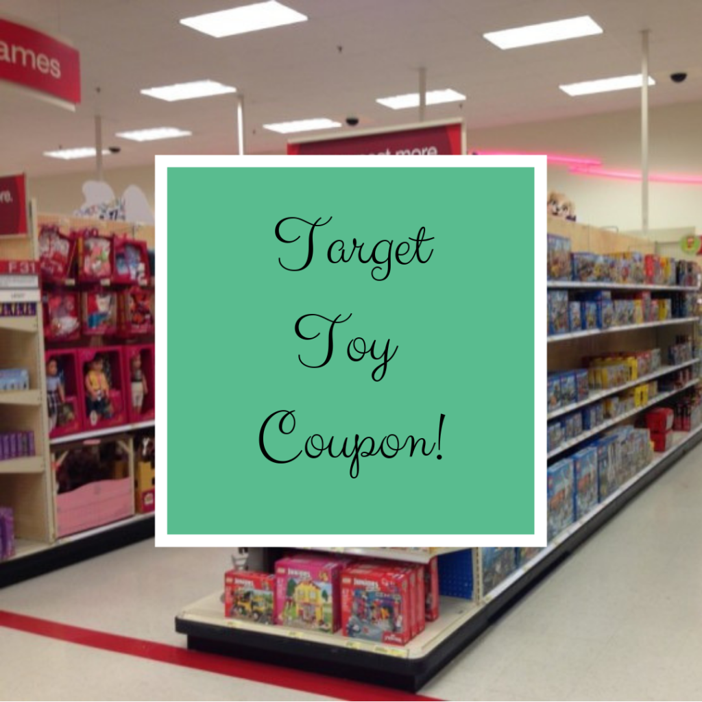 2b9716858 Use this new Target coupon to save! You can get $10 off a $50 toy purchase  or $25 off a $100 toy purchase in-store and online.