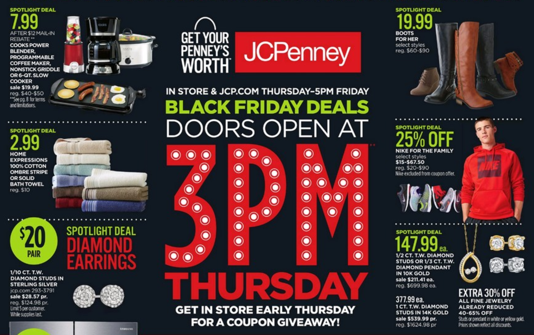 Decorating Ideas > JCPenney Black Friday Ad 2016  Southern Savers ~ 192459_Jcpenney Thanksgiving Decorations