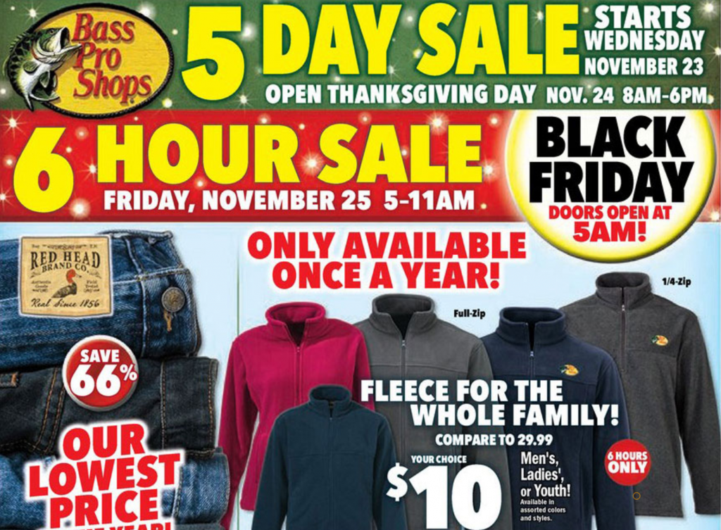 bass pro black friday ad 2016