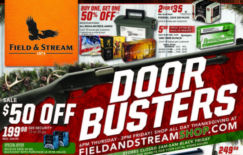 field & stream black friday ad 2016