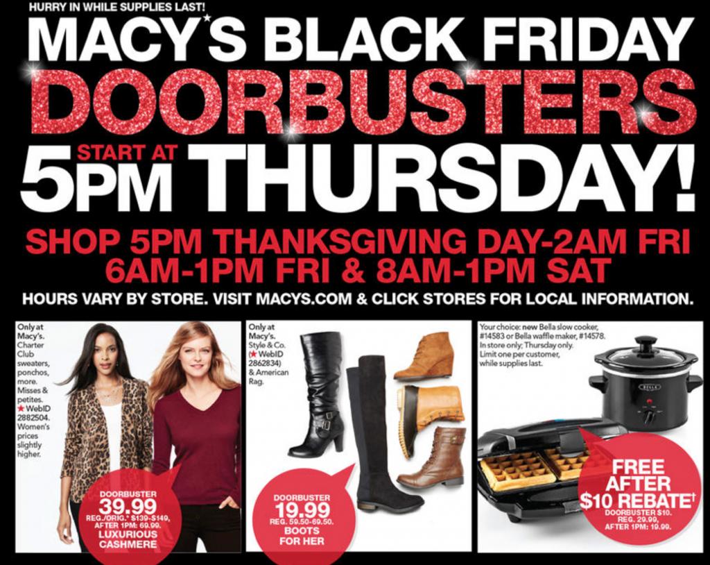 Macy's Black Friday Ad 2016