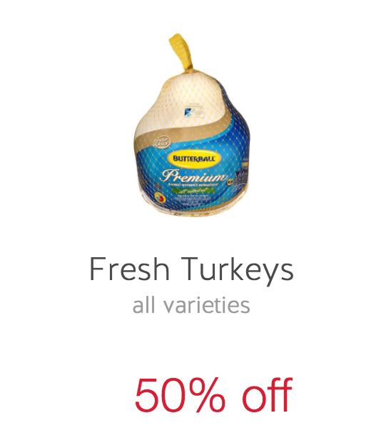 target cartwheel turkey coupon