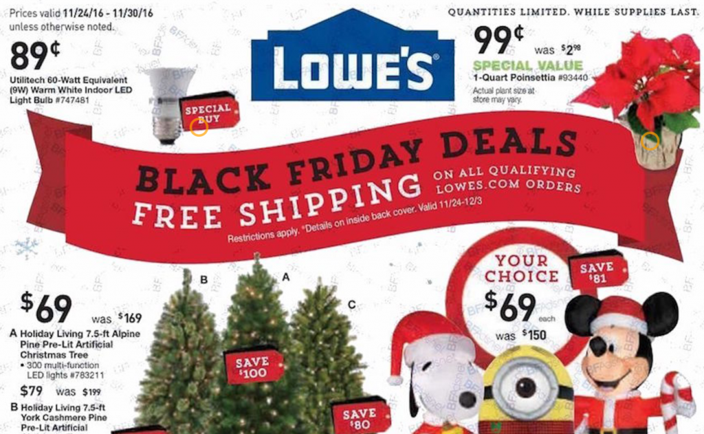lowes black friday ad 2016 - Lowes Christmas Hours
