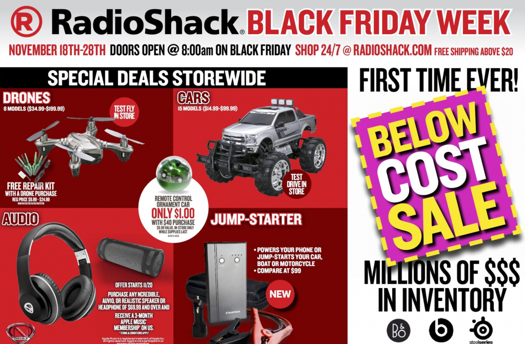 radio shack black friday ad 2016