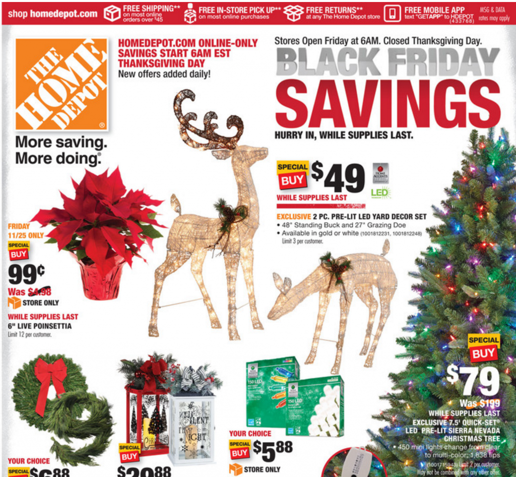 Home Depot Black Friday Ad 2016 :: Southern Savers