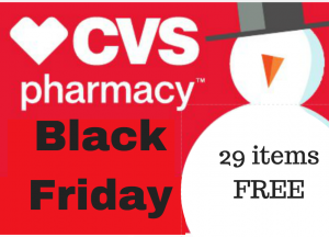 cvs black friday scenario
