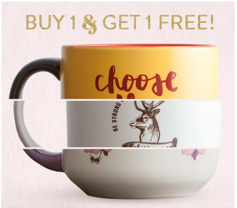 bogo mugs at dayspring