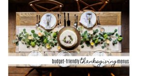 budget-friendly thanksgiving menus