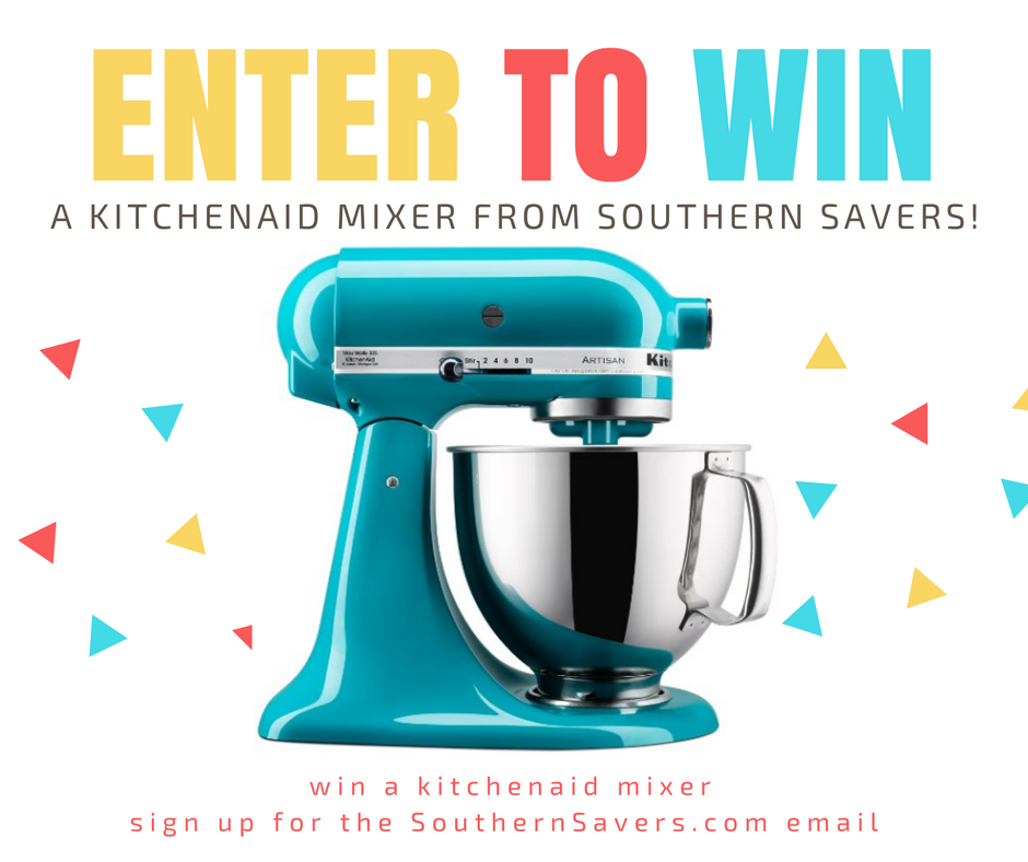 KitchenAid Mixer Giveaway :: Southern Savers