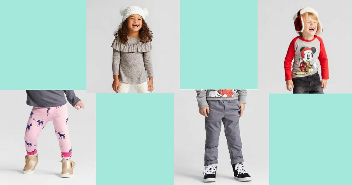target deal bogo 50 off kids clothes pajamas