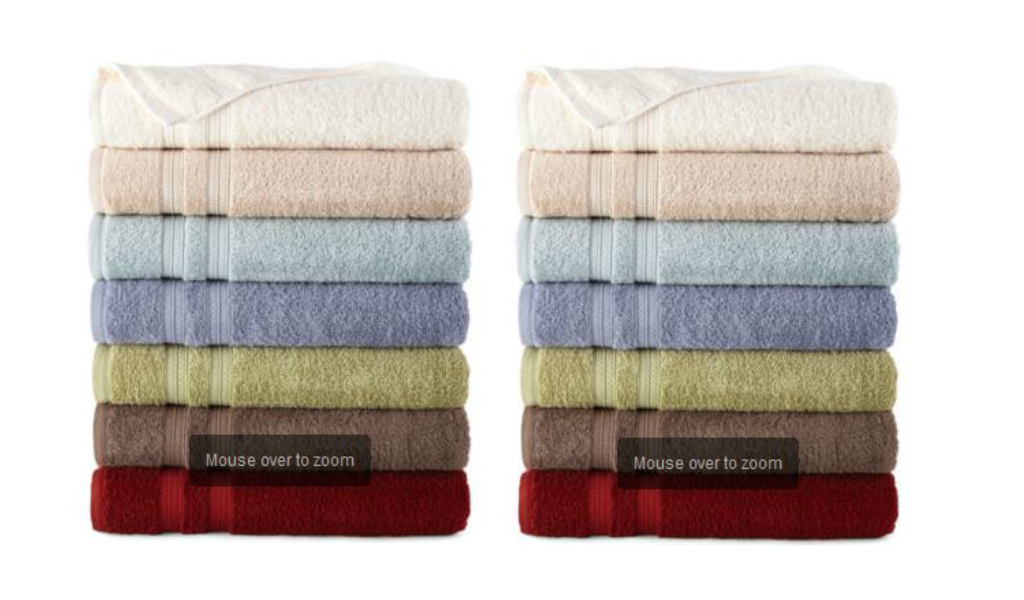 Jcpenney Decorative Bath Towels : Big bath towels for southern savers