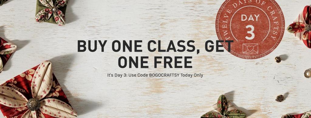 craftsy class sale