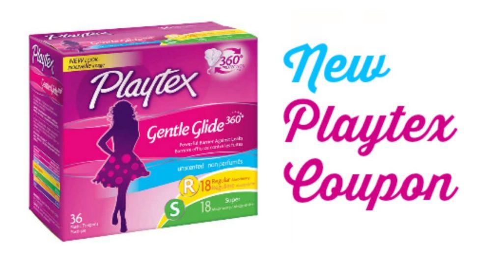 Playtex pearl tampons coupons
