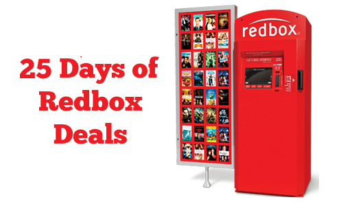 Redbox is hosting 25 Holi-Days of Deal! You can text DEALS to 727272 ...
