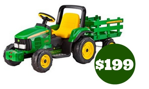 Today Only Amazon Is Offering 50 Off Select Riding Toys Including Peg Perego John Deere Farm Power Tractor With Trailer