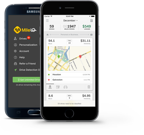 mile iq app review easily track business miles southern savers