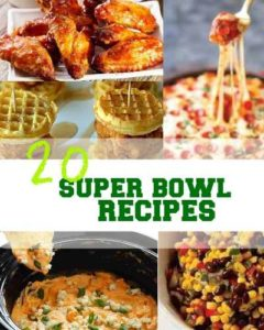 Here's a roundup of some Super Bowl recipes that will be perfect for the Super Bowl party you're hosting or the get-together you'll be attending!