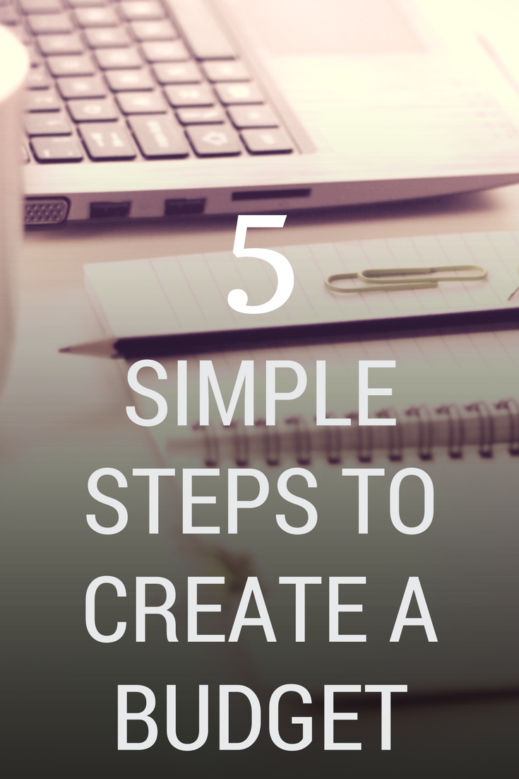 5 simple steps to create a budget pinterest