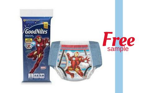 Free Sample of Huggies GoodNites Bedtime Pants! :: Southern Savers