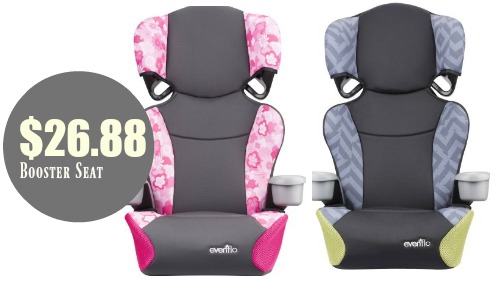 Right Now You Can Grab The Evenflo Big Kid Sport High Back Booster Seat In Pink For 2688 Or Gray And Green 2788 Regularly 5997 At Walmart