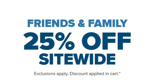e2e475b54 Today is the day to stock-up on Crocs! You will get 25% off sitewide during  the Friends   Family sale. You can also get sale styles up to 50% off.